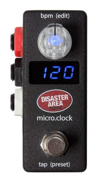 Disaster Area Micro Clock - Tap Tempo Controller