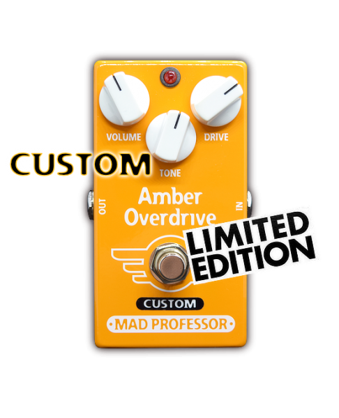 Mad Professor Amber Overdrive - Custom Midas Touch
