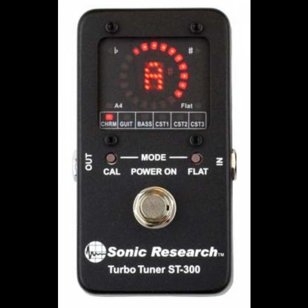 Sonic Reseach ST-300 Stomp Box Strobo Tuner