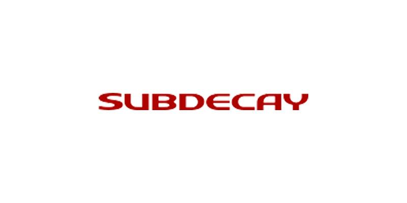 Subdecay