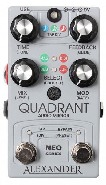 Alexander Pedals Quadrant Audio Mirror