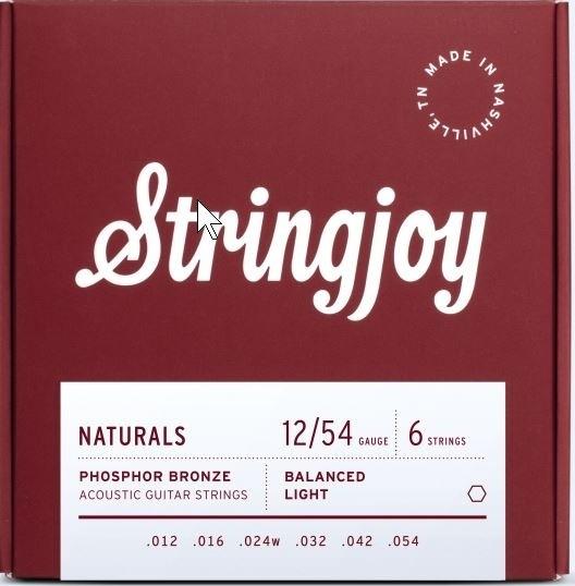 Stringjoy Naturals Phosphor Bronze 012-054 Akustik