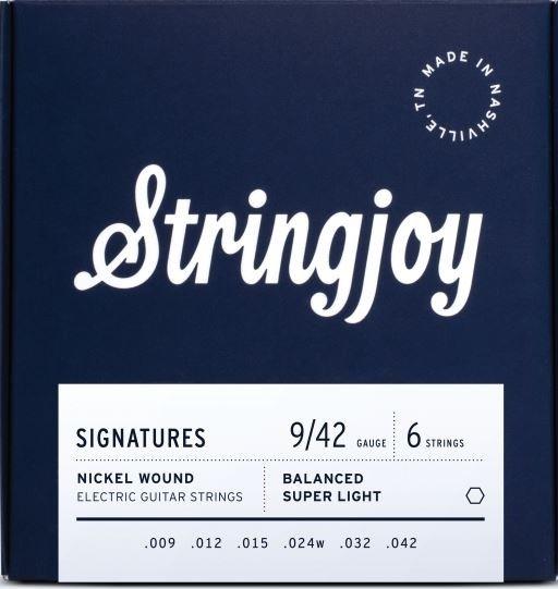 Stringjoy Signatures Nickel 009-042 Elektrik