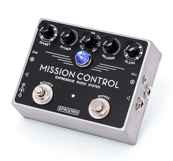 Spaceman Mission Control Silver