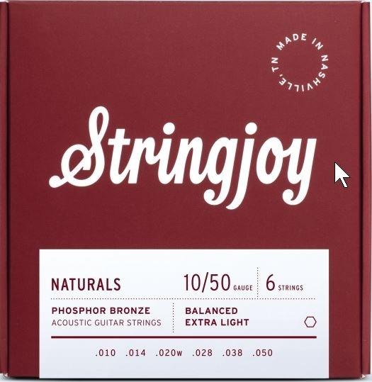 Stringjoy Naturals Phosphor Bronze 010-050 Akustik