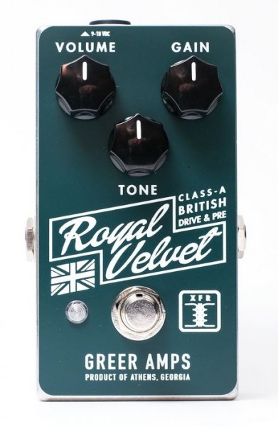 Greer Amps Royal Velvet